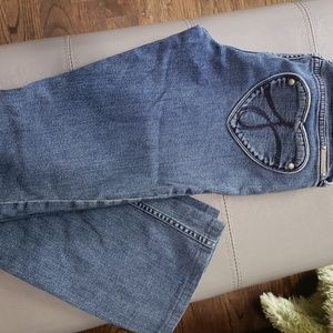 """Juicy Couture """"the Kate"""" straight leg jeans"""